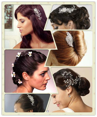 Coafuri pentru rochia stil flamenco