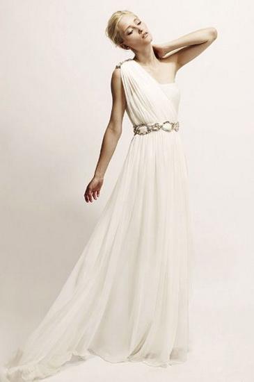 Rochie de mireasa stil grecesc