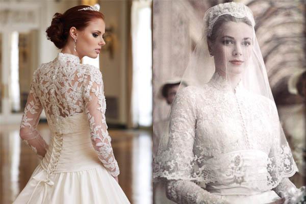 Rochie de nunta vintage