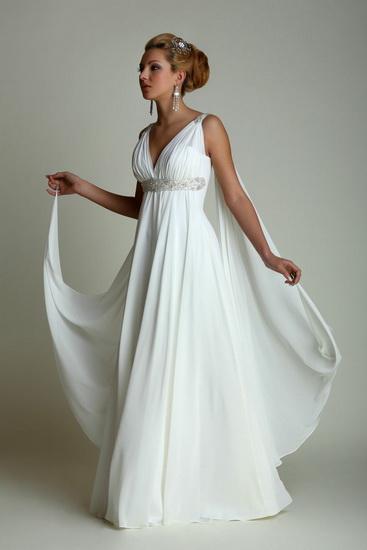 Rochie mireasa grecesca