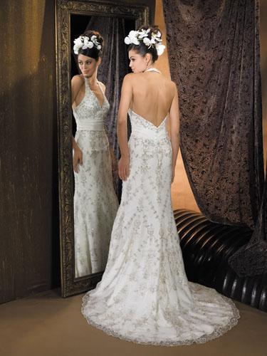 Rochii de nunta cu spatele gol