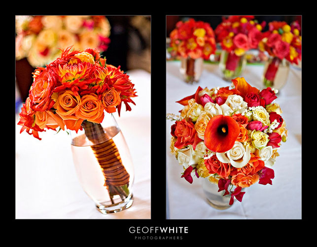 Buchete de mireasa de toamna mireasa - Flowers for wedding in october a colorful autumn ...