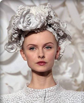 coafura fashion pentru mirese