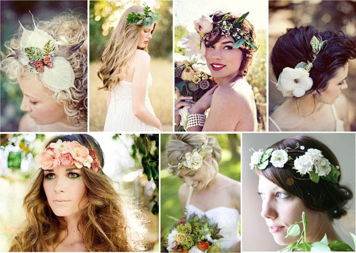 coronite cu flori pentru mirese