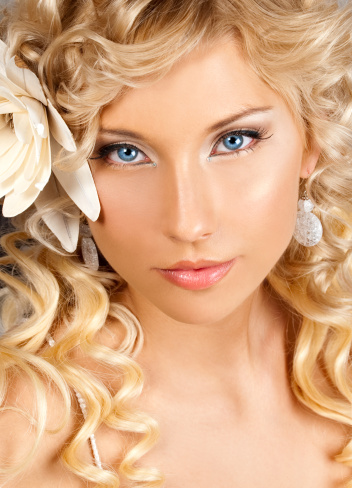 machiaj nunta ochi albastri