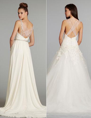 modele de rochii pentru mirese cu spatele gol