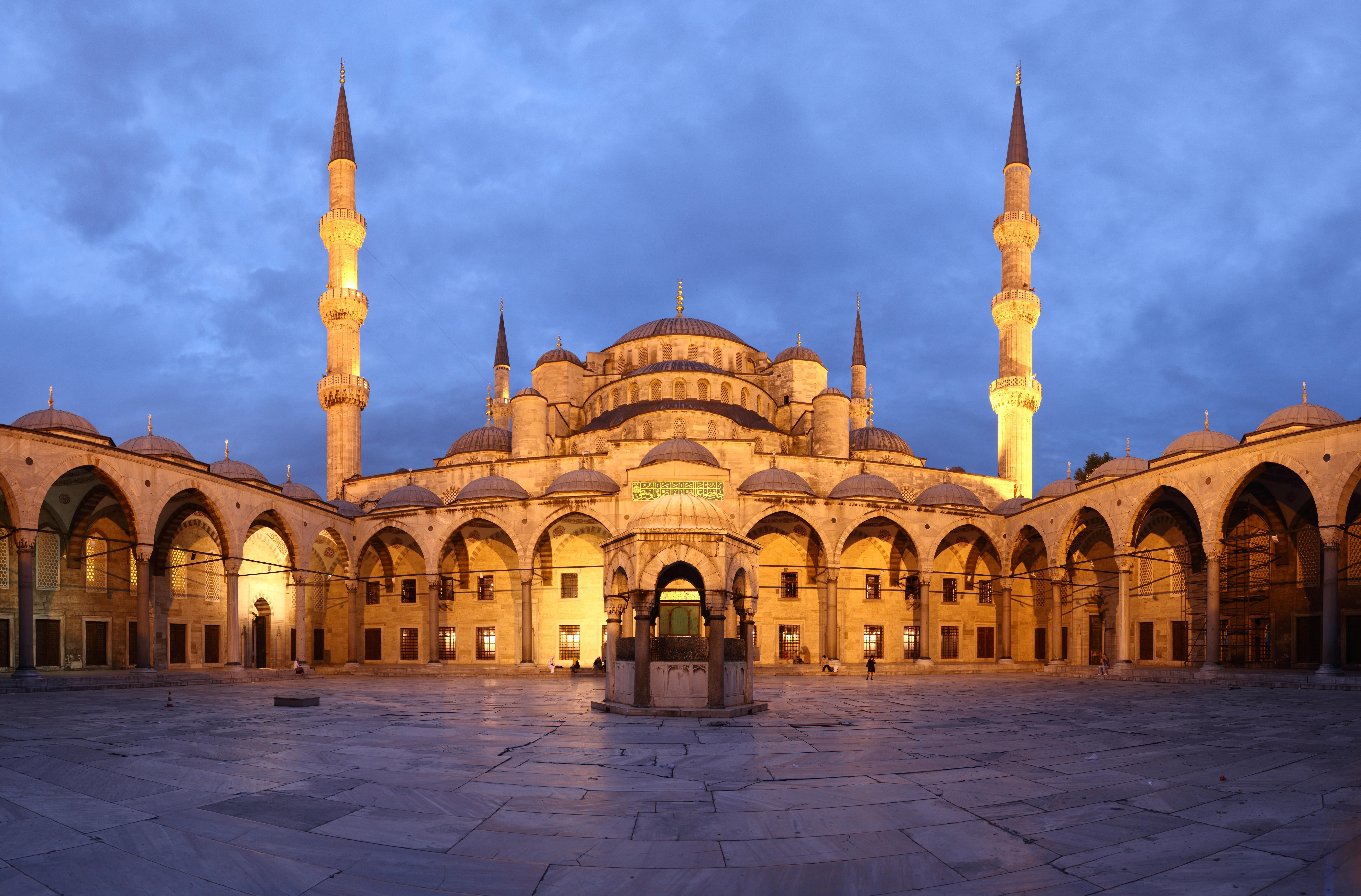 moscheea albastra din istanbul
