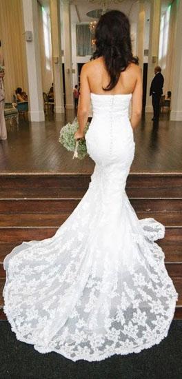 rochie de mireasa cu trena detasabila