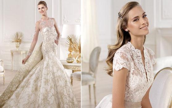 rochie de mireasa frumoasa 2014