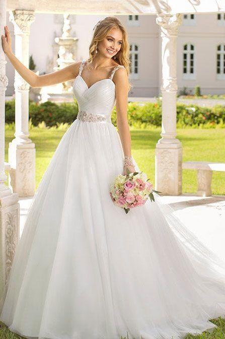 rochie de nunta simpla