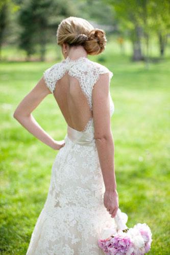 rochie mireasa 2014 cu spatele gol