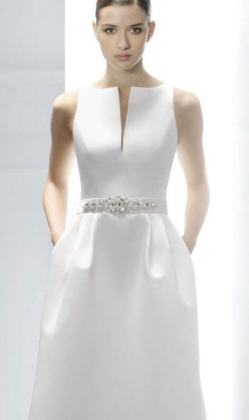 rochie mireasa foarte simpla