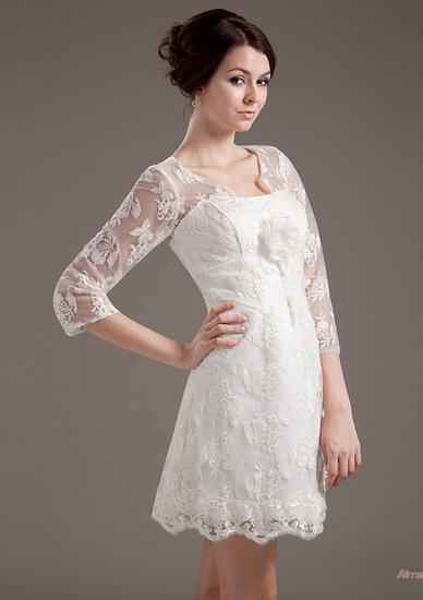 rochie mireasa scurta pentru minione