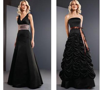 rochii de mirese negre