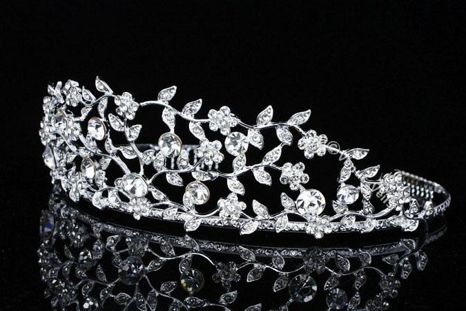 Diadema mirese cristale Swarovski