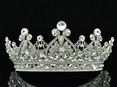 Diadema tip coroana cu cristale Swarovski
