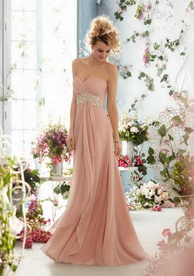 Rochie mireasa unicat roz