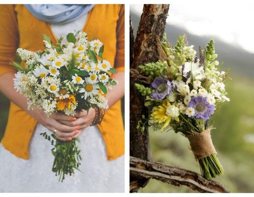 buchete cu flori salbatice