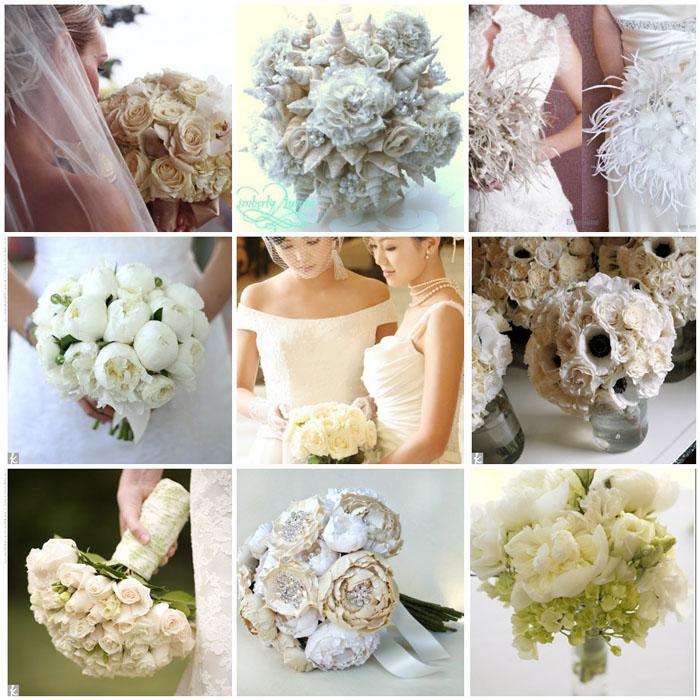 buchete din flori albe
