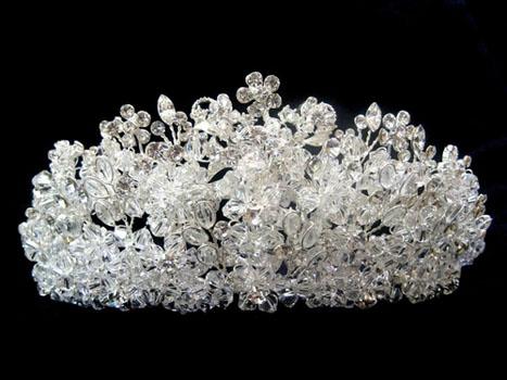 coroana cu cristale Swarovski