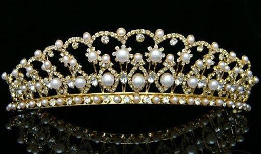 coroana din aur pentru mirese