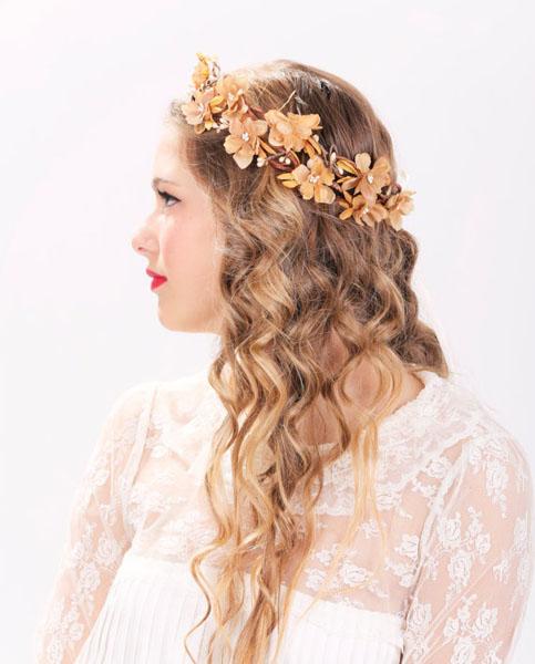coronita cu flori
