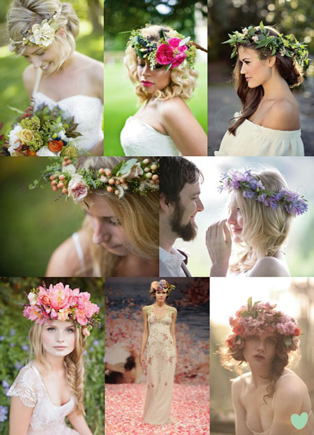 coronite mirese cu flori naturale