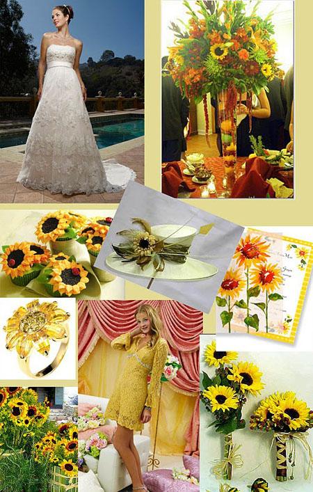 floarea soarelui la nunta