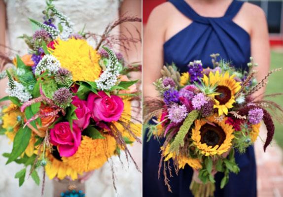 mirease cu buchete din flori salbatice