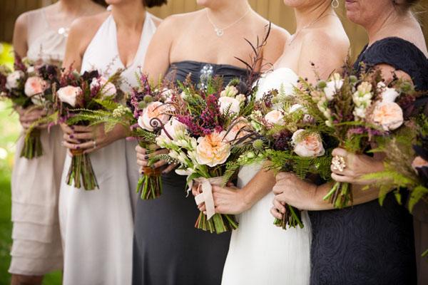 modele de buchete cu flori salbatice