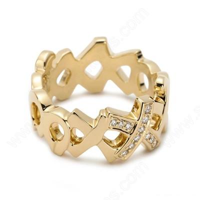modele verighete aur cu diamante
