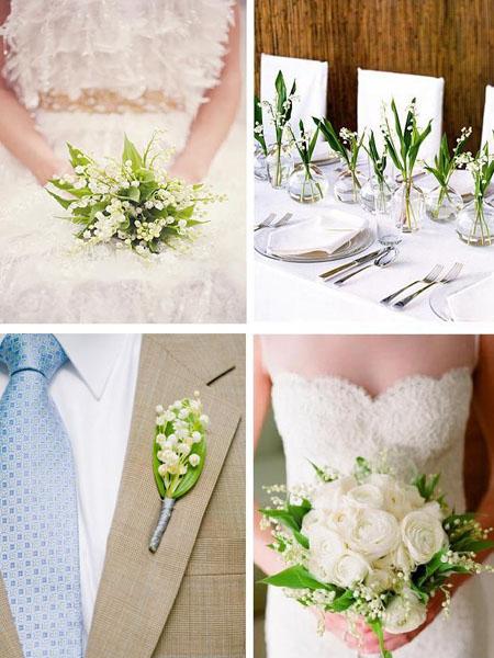 nunta cu aranjamente cu lacramioare