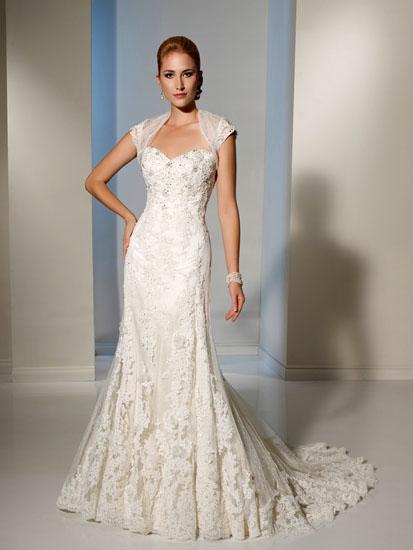 rochie de mireasa cu pietre pretioase