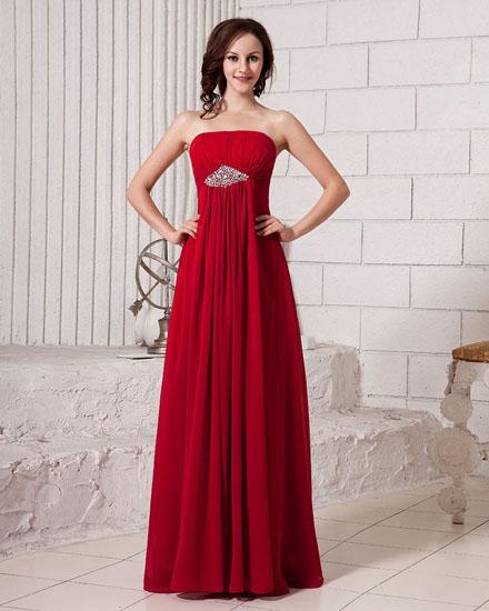 rochie de mireasa rosie dreapta