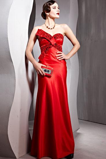 rochie de mireasa rosie vintage