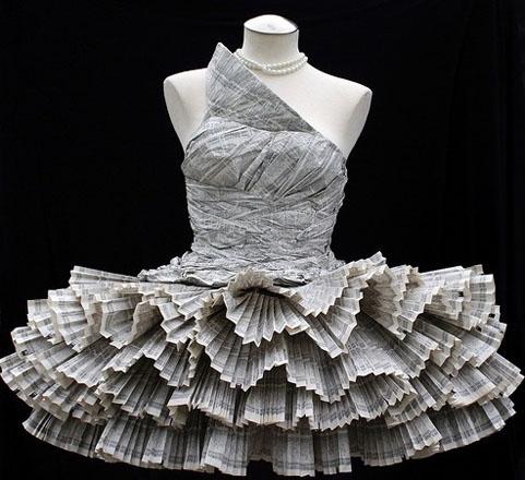 rochie mireasa din ziare