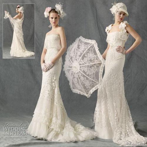 rochii de mireasa in stil retro