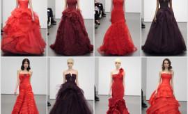 rochii de mireasa rosii