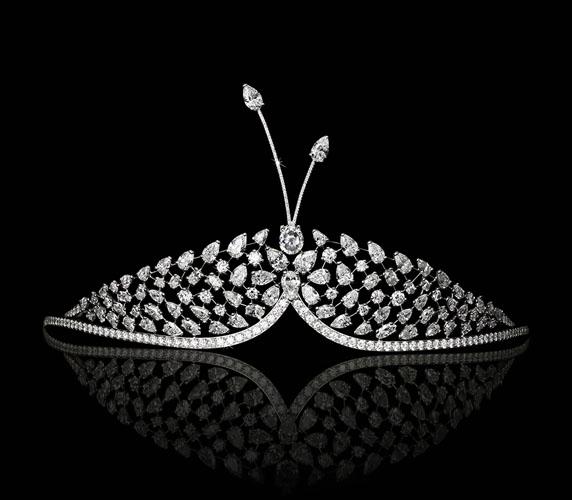 tiara cu diamante 2014