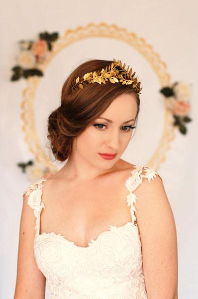 tiara mireasa tip grecesc