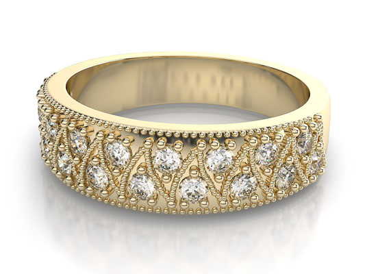 verigheta aur galben cu diamante
