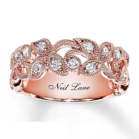 verigheta aur roz cu diamante