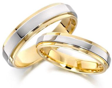 verighete aur galben cu aur alb