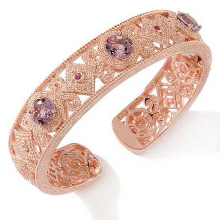 verighete aur roz cu briliane