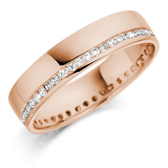 verighete aur roz cu pietre