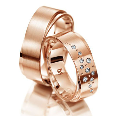 verighete aur roz si diamante