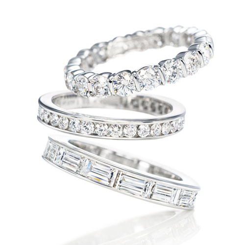 verighete din platina cu diamante