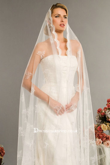 voal de nunta lung