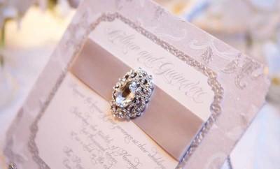 Invitatii de nunta luxoase