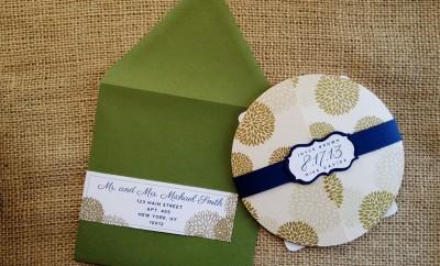 Invitatii nunta rotunde